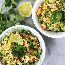 Green peas salad