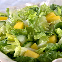 Green Salad with Dressing