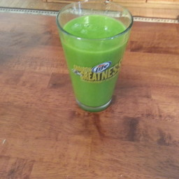 Green Smoothie 5 -( Spinach Papaya Smoothie )