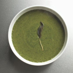 Green Soup with Yams and Sage