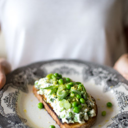 Green Spring Toast and Slowing Down