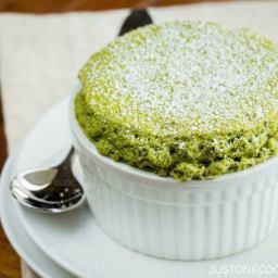 Green Tea souffle