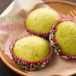 Green Tea Steamed Cake