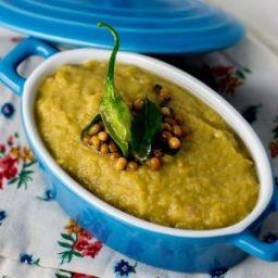 Green Tomato Chutney, Thakkali Kai Chutney