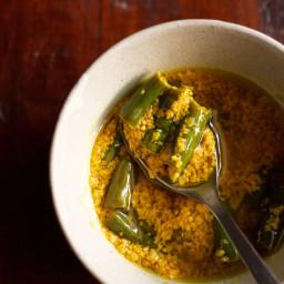 green chilli pickle recipe | hari mirch ka achaar recipe