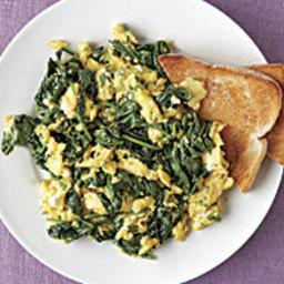 Green Goddess Scrambled Eggs