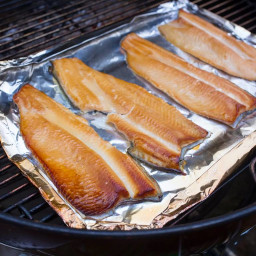 Grill Smoked Trout