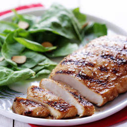 Grilled Asian Orange-Ginger Chicken