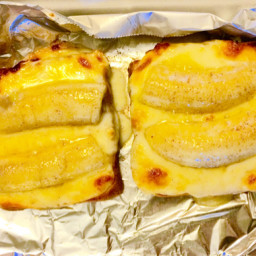 Grilled Banana & Mozarella Melt