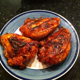 Grilled BBQ Chicken