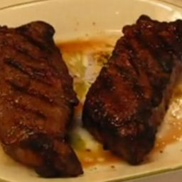Grilled Beef Strip Steak