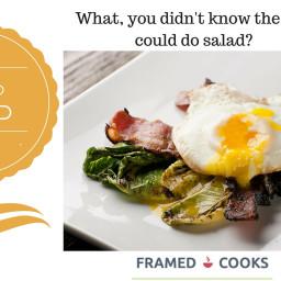 Grilled Bistro Salad