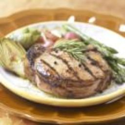 Grilled Brined Pork Chops