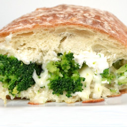 Grilled Broccoli and Cheese