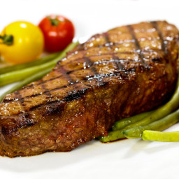 Grill and BBQ Grilled Steak Grilled Butter-Marinated Sirloin Steaks ...
