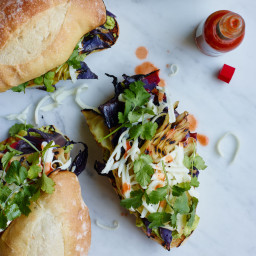 Grilled Cabbage Cemitas