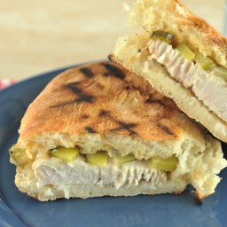 Grilled Catfish Sandwich with Dill Relish