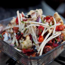 Grilled Cauliflower Salad