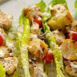 Grilled Chicken Caesar Skewers