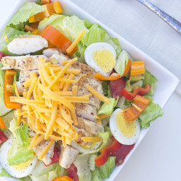 Grilled Chicken Tenders Salad
