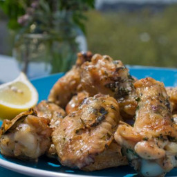 Grilled Chicken Wings with Provencal Flavors