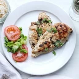 Grilled Chicken With Cilantro Marinade