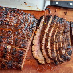 Grilled Chili Lime Flank Steak