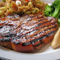 Grilled Chinese Pork Chops