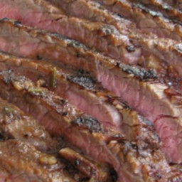 Grilled Coffee and Cola Skirt Steak Recipe