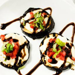Grilled Eggplant Bites