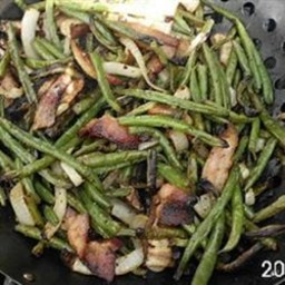 Grilled Fresh Green Beans