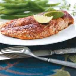 Grilled Ginger-Lime Red Snapper