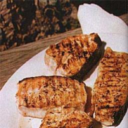 Grilled Halibut Steaks