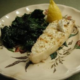 Grilled Halibut with Fennel Marinade