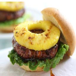 Grilled Hawaiian Teriyaki Burger