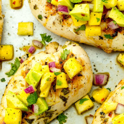 Grilled Honey-Lime Chicken with Pineapple Salsa
