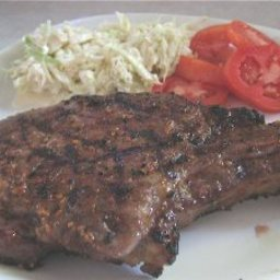 Grilled Jerk Pork Chops