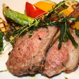 Grilled Lamb Chops Scotta Dita