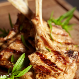 Grilled Lamb Chops with Cinnamon and Coriander