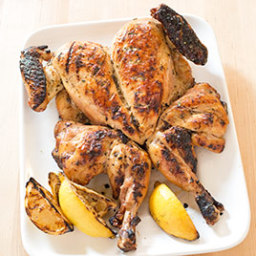 Grilled Lemon Chicken with Rosemary