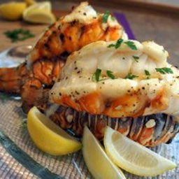 Grilled Lobster Tails with Garlic Butter Recipe
