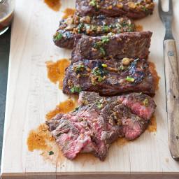 Grilled Marinated Skirt Steak