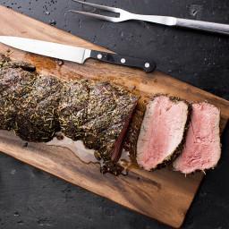 Grilled Montreal Beef Tenderloin