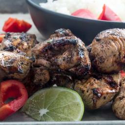 Grilled Moroccan Chicken Kebobs