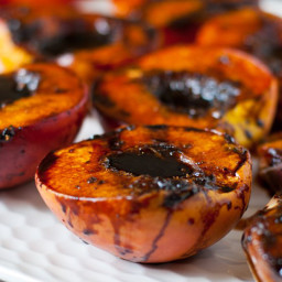 Grilled Peaches - JD Style
