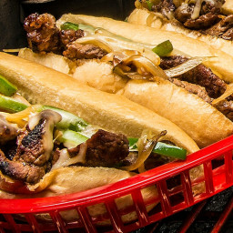 Grilled Philly CheeseSteak Sandwiches