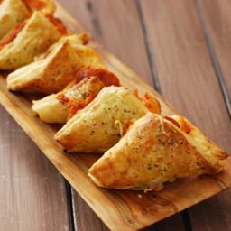 Grilled Pizza Puffs