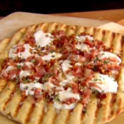 Grilled Pizza -Three Ways