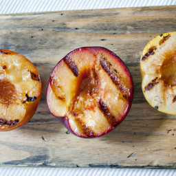Grilled Pluot Freezer Jam