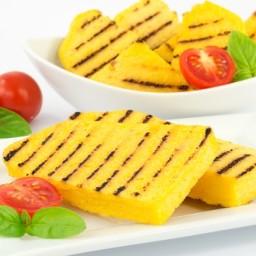 Grilled Polenta with Summer Vegetables